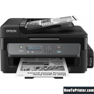 Reset Epson M200 printer with Epson Waste Ink Pad Counters resetter