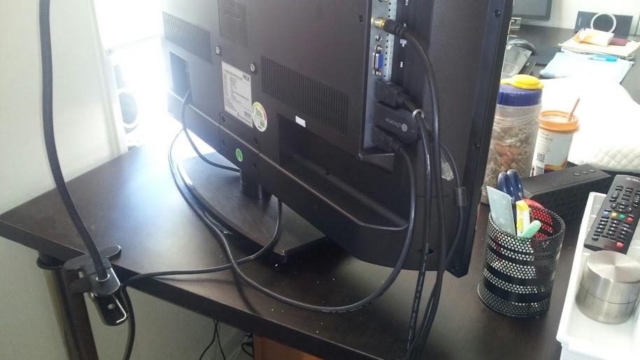 알루미늄 회전판의 TV나 모니터의 회전 가능한 실제 각도