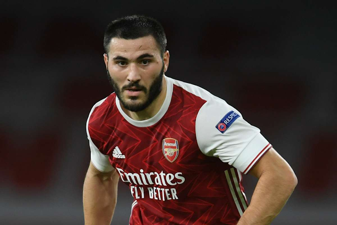 Arsenal Defender, Sead Kolasinac Tests Positive For Coronavirus While On International Duty For His Country