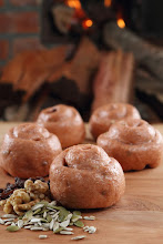 柴燒紅麴堅果饅頭