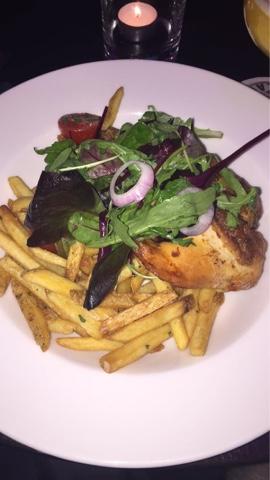 Mc Gettigan's Pan Roasted 1/2 chicken - Mc Gettigan's Galway Blogger Taste & Tell Evening