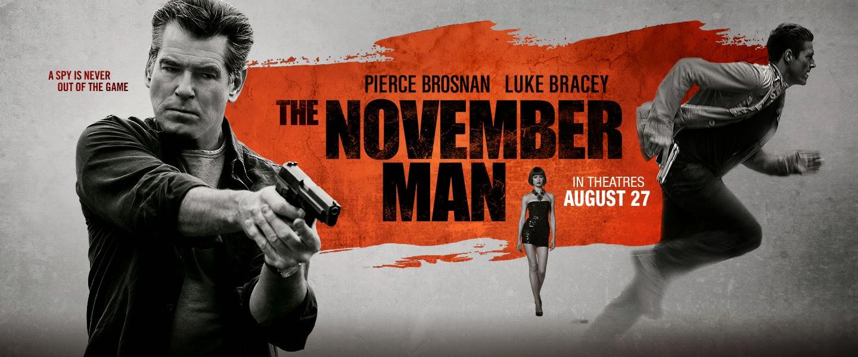 O Άνθρωπος του Νοέμβρη (The November Man) Wallpaper