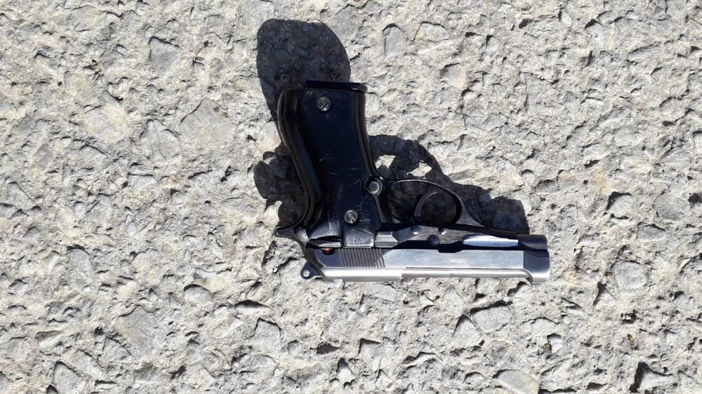 Stolen firearm found in man's armpit - HeraldLIVE
