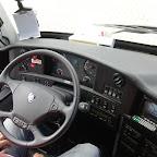 Het dashboard van de Scania Touring (D)