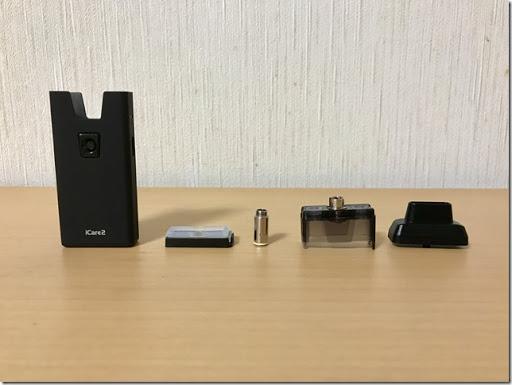 FullSizeRender 24 08 17 10 27 thumb%255B1%255D - 【レビュー】「iCare 2」コンパクトなのに煙量抜群?!持ち運ぶならこれ!小さいけど頼れるすごいやつ。サブ機にもってこい!【レビュー/VAPE/電子タバコ】