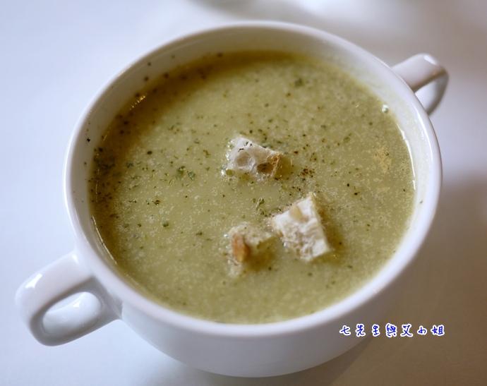 6 櫛瓜濃湯