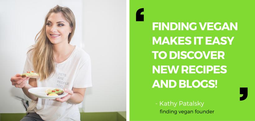 kathy patalsky finding vegan