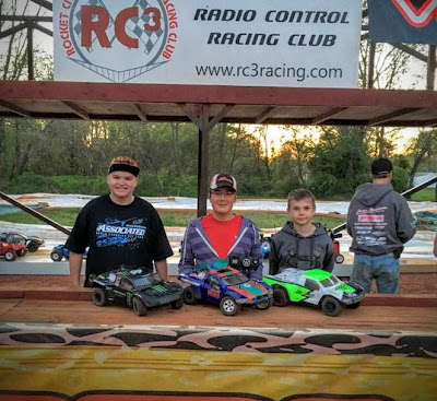 2WD SCT - 1st: Tyler Ernst, 2nd: Aaron Perry, 3rd: Tyler Schrimsher