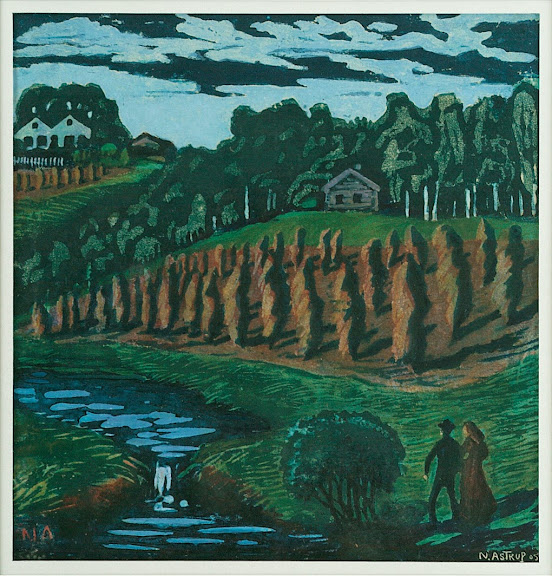 Nikolai Astrup - Stooks (small)