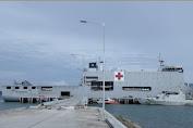 Luar Biasa, TNI Kirim Rumah Sakit Apung dan Dokter Tangani Pasien Korban Bencana di Mamuju