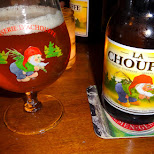 an amazing beer, La Chouffe in Amsterdam, Noord Holland, Netherlands