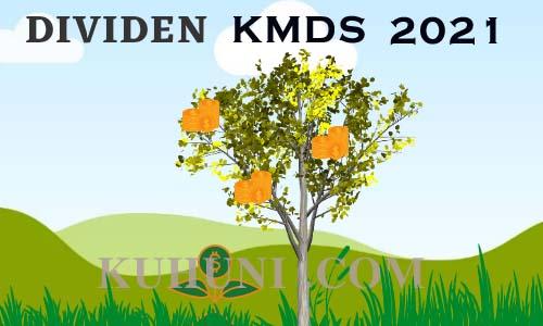 dividen kmds 2021
