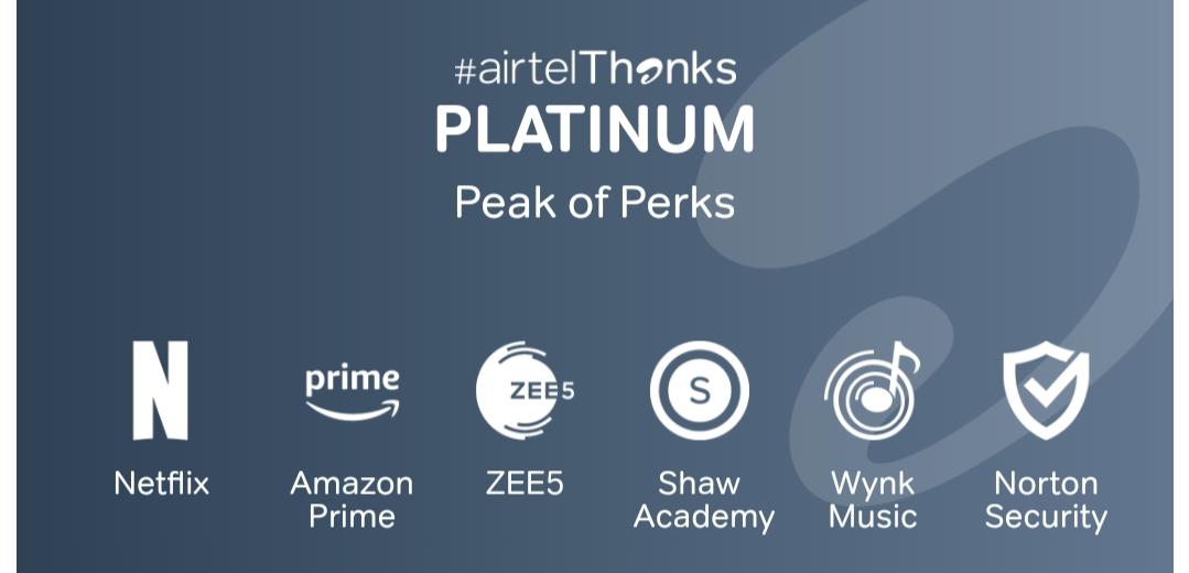 airtel thanks platinum