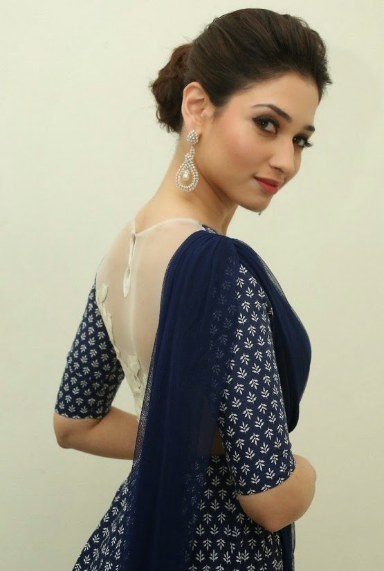 Tamanna cute stills in Alludu seenu Movie Function Gorgeous Look in That Vintage costume