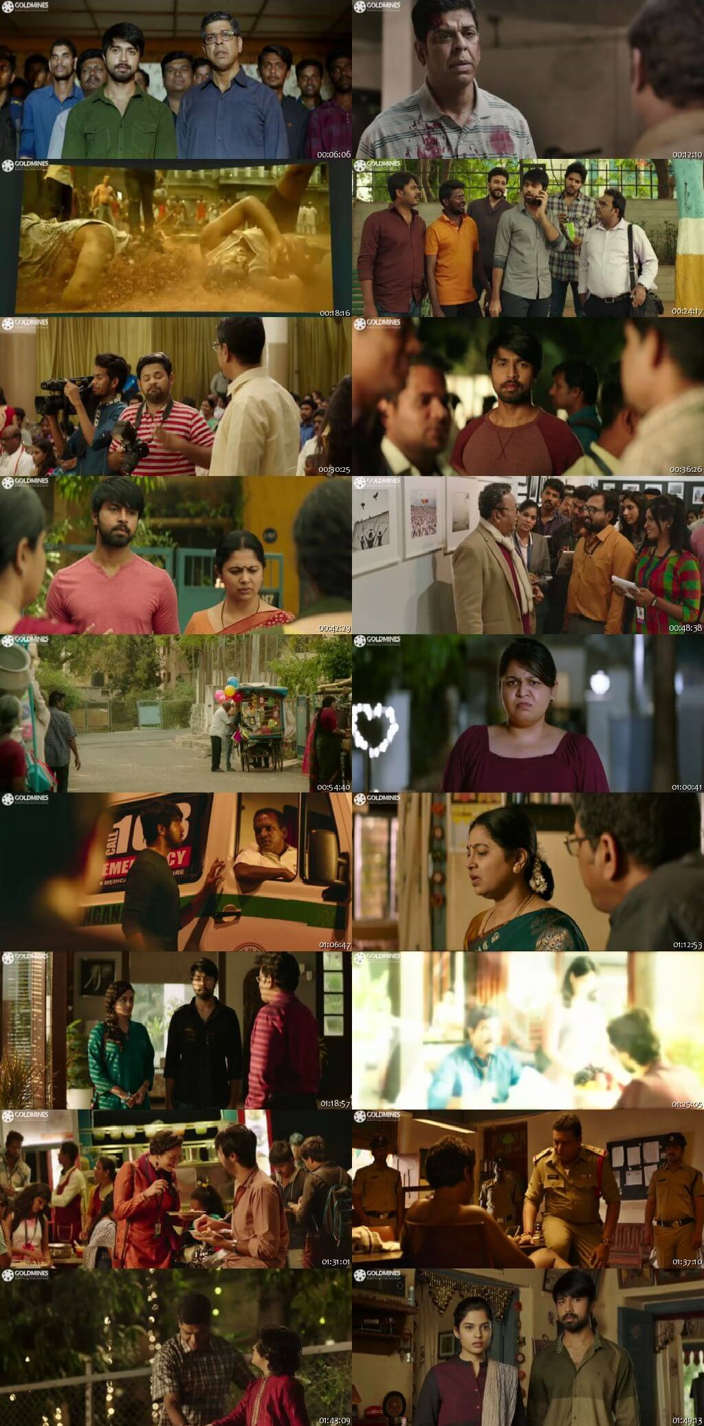 Screen Shot Of Vijetha 2020 300MB Full Movie Hindi Dubbed Free Download 480P HDRip Small Size PC Movie