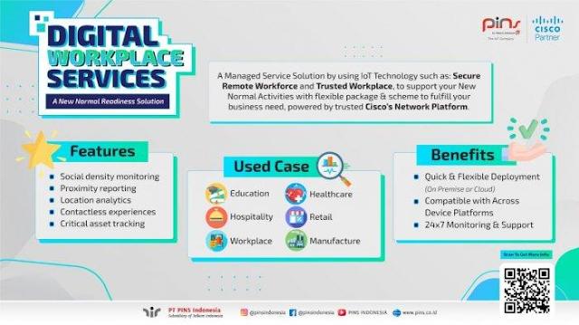 Digital Workplace PINS Indonesia Jadi Parameter Kesiapan Perusahaan Hadapi New Normal