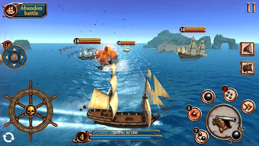 Ships of Battle: Ages of Pirates -Wars u2019n Strategy 2.4.1 screenshots 5