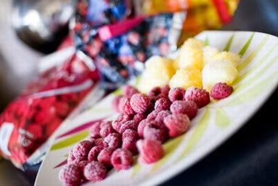 Diferencia entre la fruta congelada y la fruta fresca en las recetas