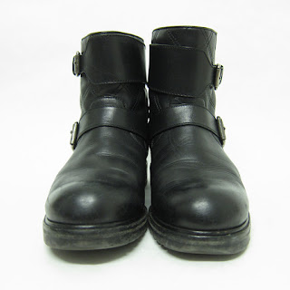 Marc Jacobs Leather Moto Boots
