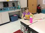 Caught Reading at Gilles-Sweet: Right to Read Week 2015 (Grade 3)
