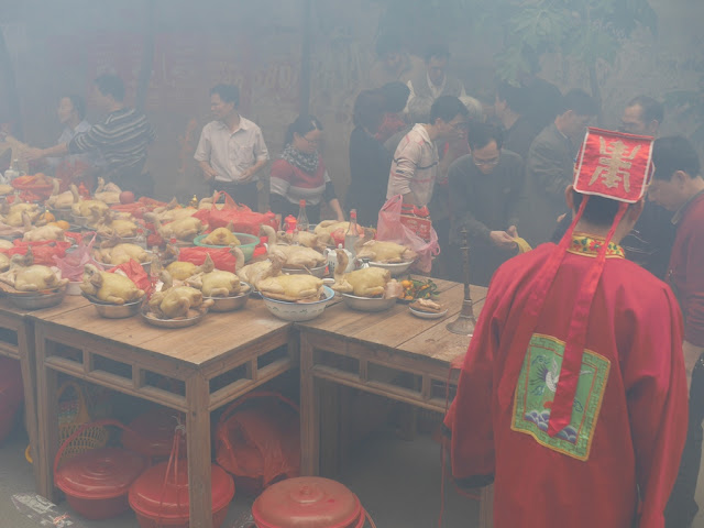 food for the Nian Li Festival (年例节) in Maoming, China