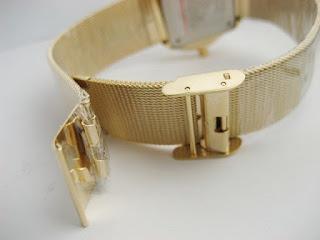 Jual jam tangan Gucci date sandchain full gold