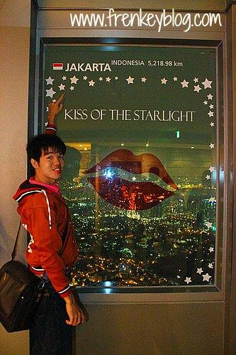 Titik Jakarta di Seoul Tower
