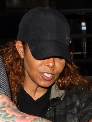 THIS IS THE CHRONICLES OF EFREM  Janet Jackson spotted in L.A ... 9cb1f023807