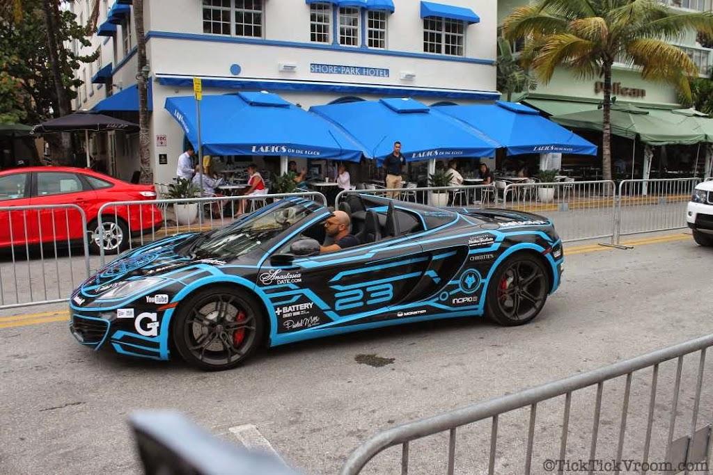 2014 Gumball 3000 Miami 2 Ibiza Ocean Drive 7994