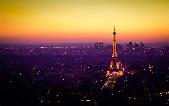 Nightfall in Paris by Emmanuel Iarussi1