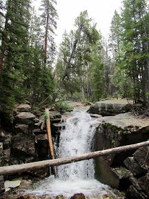 Falls along Ostler Fork