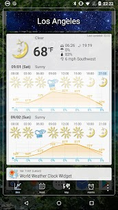 World Weather Clock Widget 4