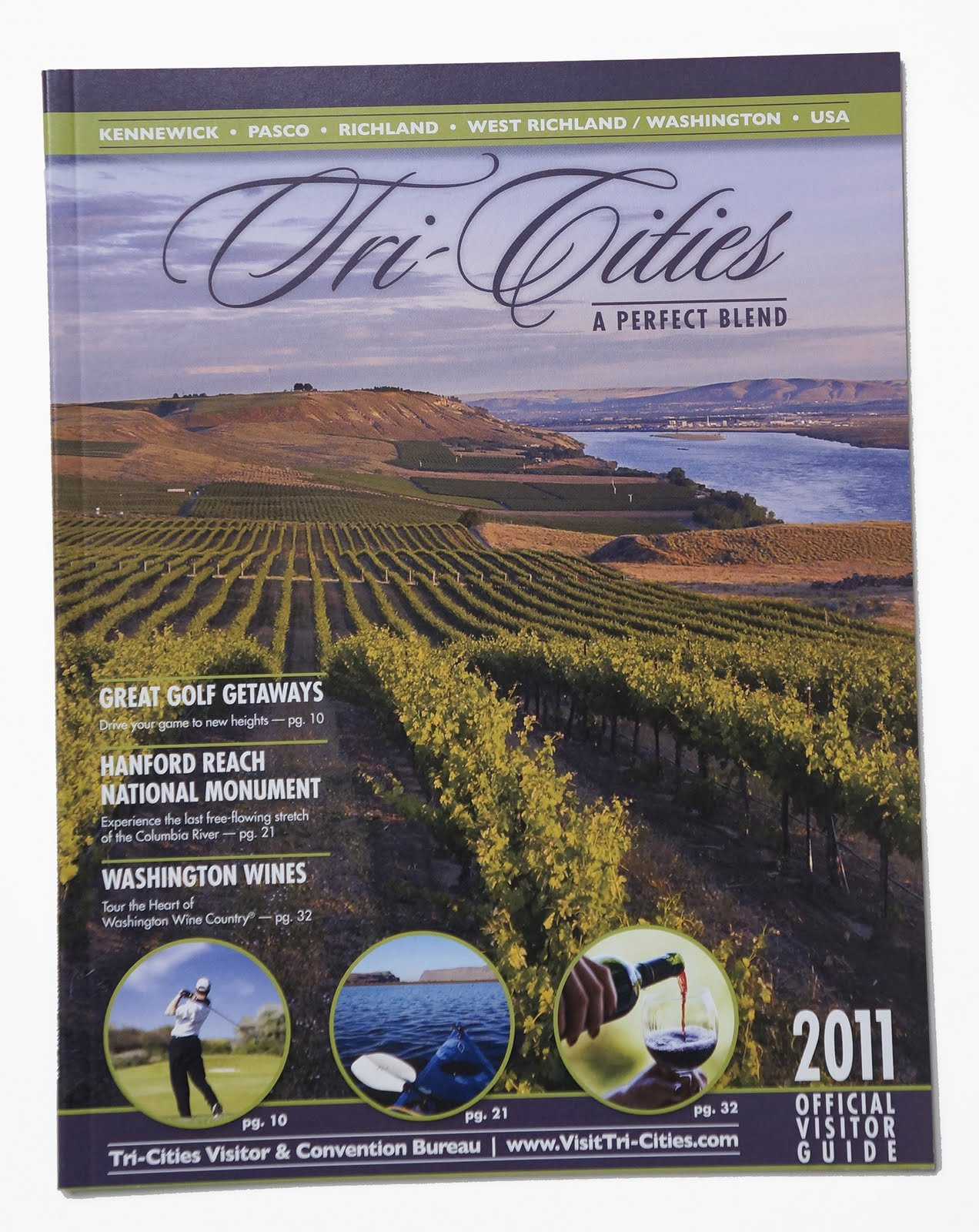 2011 Visitor Guide cover.