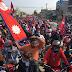 Demonstration in Dhangadhi demanding monarchy