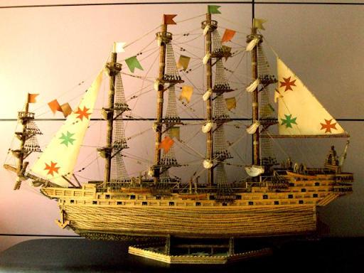 Vendo Maquetas de Barcos Antiguos
