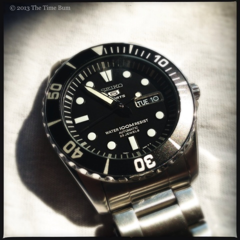 The Name is Bum, James Bum: Seiko SNZF17 | The Time Bum