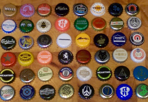 Gerry 39 s kitchen beer bottle cap challenge for What can i make with beer bottle caps