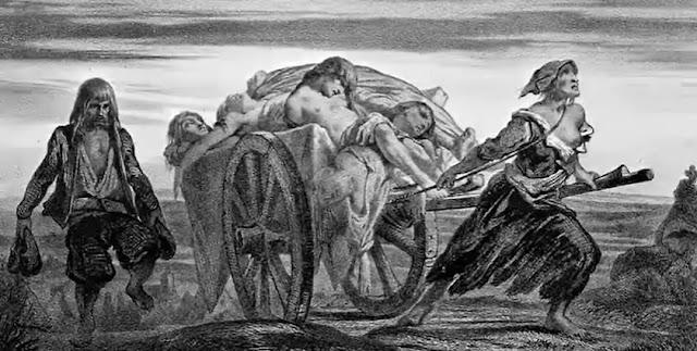 A Plague Swept Through The Byzantine Empire