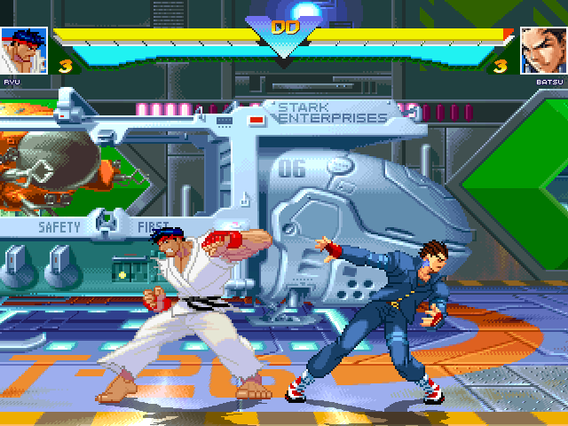 SF3 Ryu -ReHyped- for Win MUGEN & 1.0 (& 1.1b) Ryu-rehyped-01