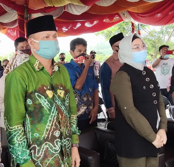 Pilkada Tanah Bumbu, Pasangan Mila dan Zainal Mendaftar