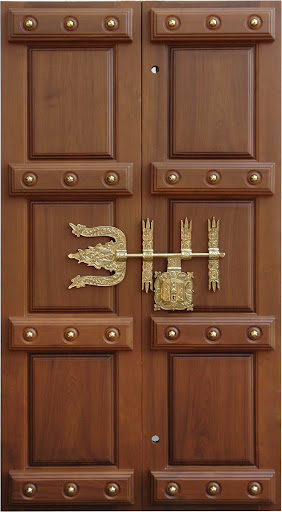 Hand carved front doors ones that make a great first for Teak wood doors in bangalore