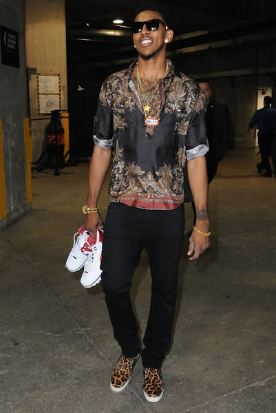 Wearing Brons Nick Young Revisits AZG 8220First Game8221