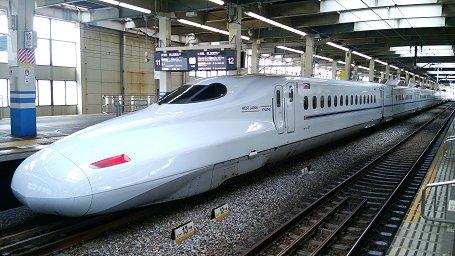 Series N700 Shinkansen Mizuho/Sakura trong thực tế