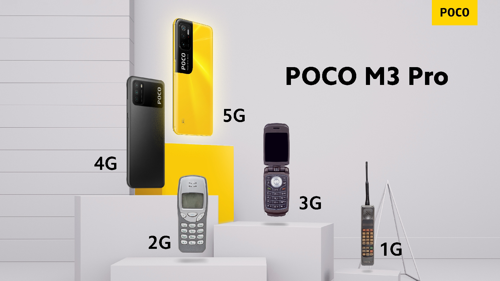 เตรียมตัวให้พร้อมเพื่อพบกับ POCO M3 Pro 5G More Speed, More Everything เปิดตัวในเมืองไทย ในวันที่ 1 มิถุนายนนี้ เวลา 19.00 น.