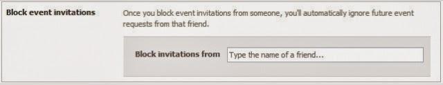 chặn lời mời tham gia sự kiện trên facebook