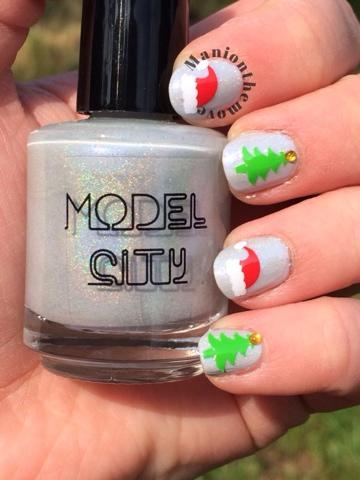 Simple Christmas with Model City Polish