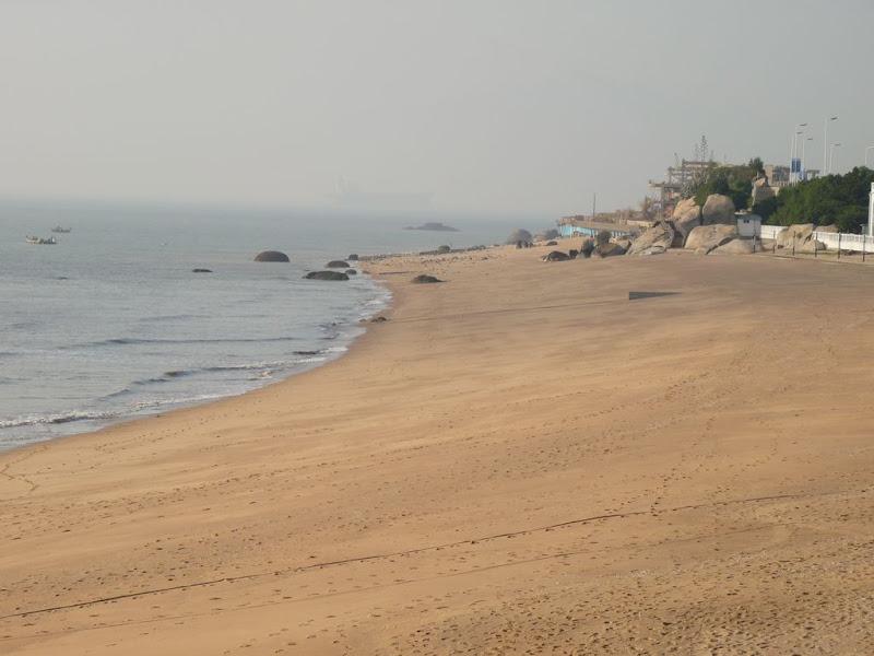 Xiamen.La plage a 100 metres