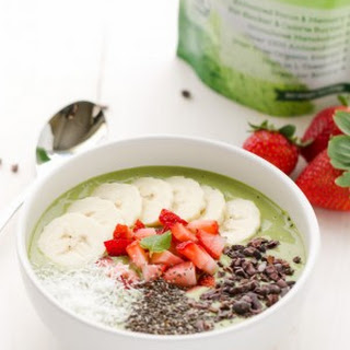 Matcha Green Tea Smoothie Bowl Recipe