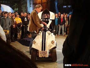 Jeremy Clarkson and his Peel P45