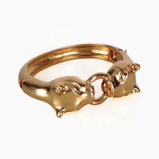 Kule Double Headed Lion bracelet